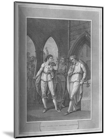 'Henry I., Seizing The Treasure of Winchester', 1838-Unknown-Mounted Giclee Print