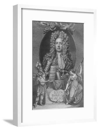 'John, Duke of Marlborough', 1790-Unknown-Framed Giclee Print