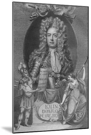 'John, Duke of Marlborough', 1790-Unknown-Mounted Giclee Print