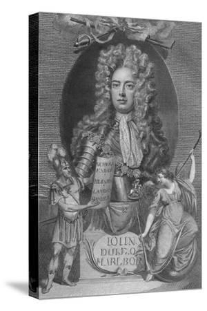 'John, Duke of Marlborough', 1790-Unknown-Stretched Canvas Print