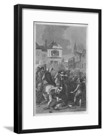 'The Death of Wat Tyler', 1838-Unknown-Framed Giclee Print