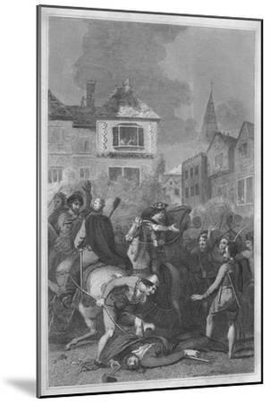 'The Death of Wat Tyler', 1838-Unknown-Mounted Giclee Print