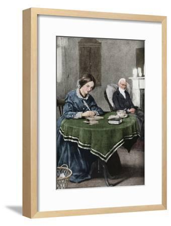 'The Brontes - Words Inspired By Hope That Won Renown', c1925-Unknown-Framed Giclee Print