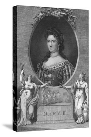 'Mary II', 1790-Unknown-Stretched Canvas Print