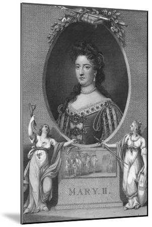 'Mary II', 1790-Unknown-Mounted Giclee Print