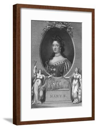 'Mary II', 1790-Unknown-Framed Giclee Print