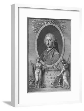 'William, Earl of Chatham', 1790-Unknown-Framed Giclee Print