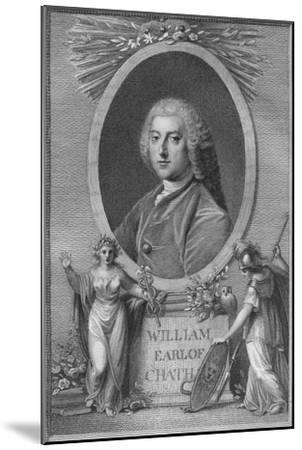 'William, Earl of Chatham', 1790-Unknown-Mounted Giclee Print