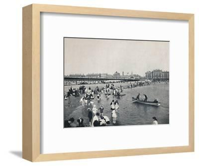 'Southport - The Pier and the South Lake', 1895-Unknown-Framed Photographic Print