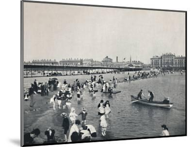 'Southport - The Pier and the South Lake', 1895-Unknown-Mounted Photographic Print