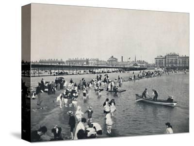 'Southport - The Pier and the South Lake', 1895-Unknown-Stretched Canvas Print