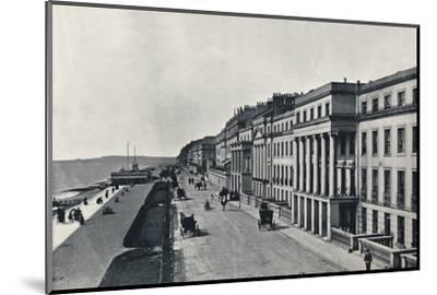 'St. Leonards - The Marina', 1895-Unknown-Mounted Photographic Print