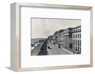 'St. Leonards - The Marina', 1895-Unknown-Framed Photographic Print