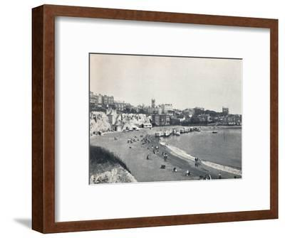 'Broadstairs - General View from the Cliffs', 1895-Unknown-Framed Photographic Print
