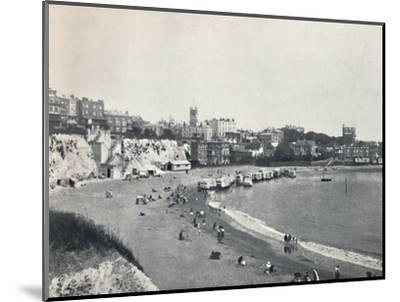 'Broadstairs - General View from the Cliffs', 1895-Unknown-Mounted Photographic Print