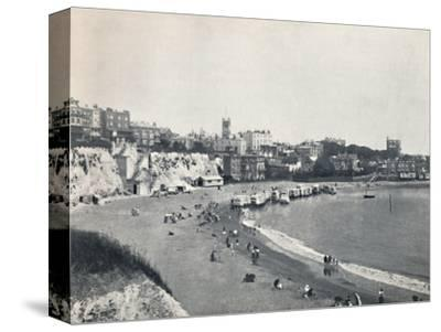 'Broadstairs - General View from the Cliffs', 1895-Unknown-Stretched Canvas Print