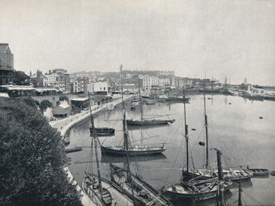 'Ramsgate - The Harbour', 1895-Unknown-Framed Photographic Print