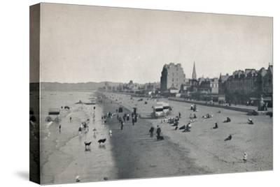 'Portobello - The Beach', 1895-Unknown-Stretched Canvas Print