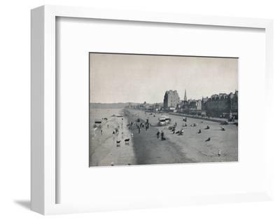 'Portobello - The Beach', 1895-Unknown-Framed Photographic Print