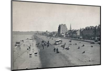 'Portobello - The Beach', 1895-Unknown-Mounted Photographic Print