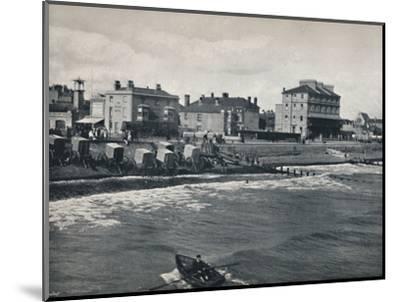 'Bognor - The Esplanade', 1895-Unknown-Mounted Photographic Print