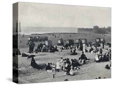 'New Brighton - Showing the Port and the Lighthouse', 1895-Unknown-Stretched Canvas Print