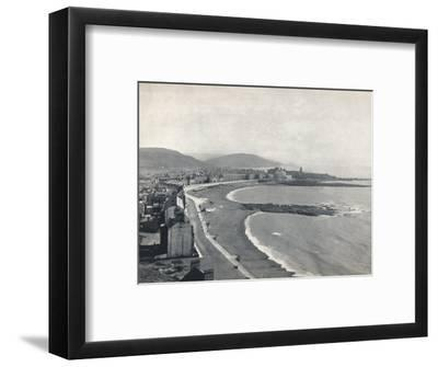 'Aberystwith - View of the Bay, Showing the Castle and the University College', 1895-Unknown-Framed Photographic Print