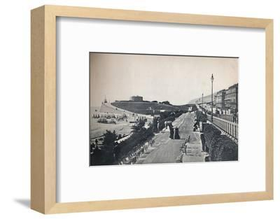 'Eastbourne - Part of the Promenade, Showing Wish Tower', 1895-Unknown-Framed Photographic Print