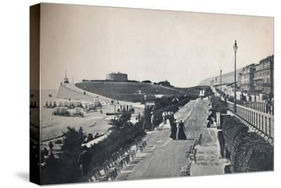 'Eastbourne - Part of the Promenade, Showing Wish Tower', 1895-Unknown-Stretched Canvas Print