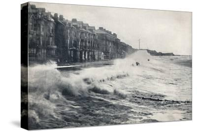 'Blackpool - A Rough Day', 1895-Unknown-Stretched Canvas Print
