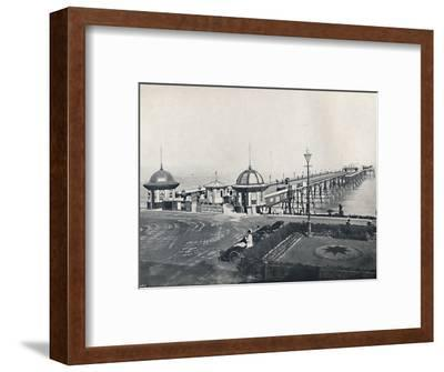 'Eastbourne - The Pier', 1895-Unknown-Framed Photographic Print