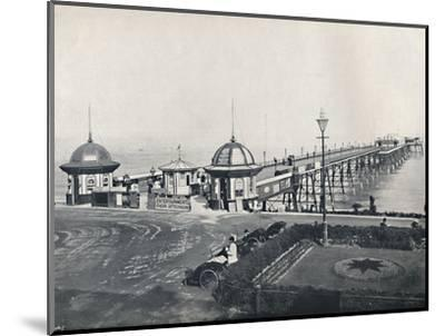 'Eastbourne - The Pier', 1895-Unknown-Mounted Photographic Print