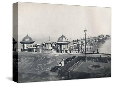 'Eastbourne - The Pier', 1895-Unknown-Stretched Canvas Print