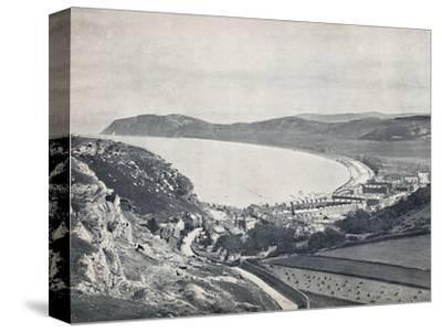 'Llandudno - Looking Down from the Mountain', 1895-Unknown-Stretched Canvas Print