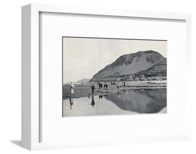 'Llanfairechan - The Village and Penmaenmawr Mountain', 1895-Unknown-Framed Photographic Print