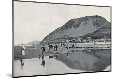 'Llanfairechan - The Village and Penmaenmawr Mountain', 1895-Unknown-Mounted Photographic Print