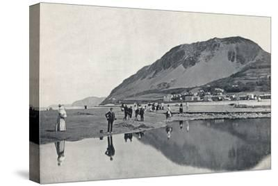'Llanfairechan - The Village and Penmaenmawr Mountain', 1895-Unknown-Stretched Canvas Print