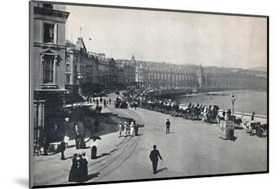 'Douglas - General View of the Promenade', 1895-Unknown-Mounted Photographic Print