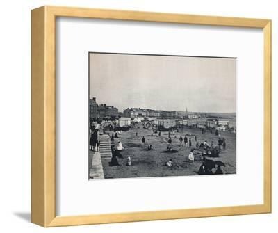 'Weymouth - General View of the Town and the Beach', 1895-Unknown-Framed Photographic Print