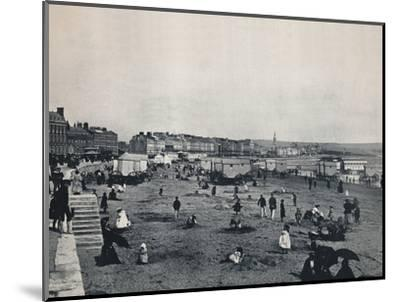 'Weymouth - General View of the Town and the Beach', 1895-Unknown-Mounted Photographic Print