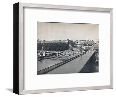 'Southend - From the Pier', 1895-Unknown-Framed Photographic Print