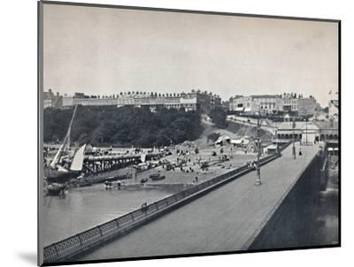 'Southend - From the Pier', 1895-Unknown-Mounted Photographic Print
