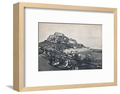 'Jersey - Gorey, and Mont Orgueil Castle', 1895-Unknown-Framed Photographic Print