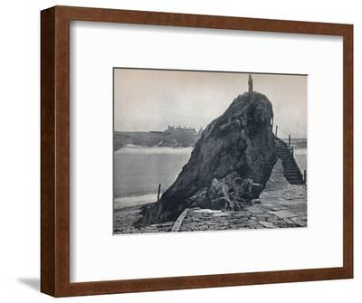 'Bude - The Chapel Rock', 1895-Unknown-Framed Photographic Print