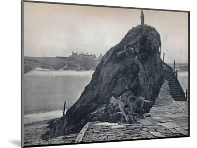 'Bude - The Chapel Rock', 1895-Unknown-Mounted Photographic Print