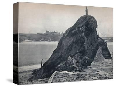 'Bude - The Chapel Rock', 1895-Unknown-Stretched Canvas Print