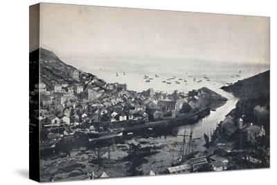 'Looe - View from the Hills, Showing the Estuary', 1895-Unknown-Stretched Canvas Print