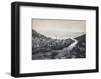 'Looe - View from the Hills, Showing the Estuary', 1895-Unknown-Framed Photographic Print