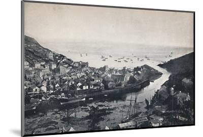 'Looe - View from the Hills, Showing the Estuary', 1895-Unknown-Mounted Photographic Print