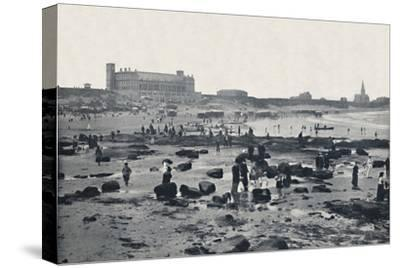 'Tynemouth - The Aquarium and Sands', 1895-Unknown-Stretched Canvas Print